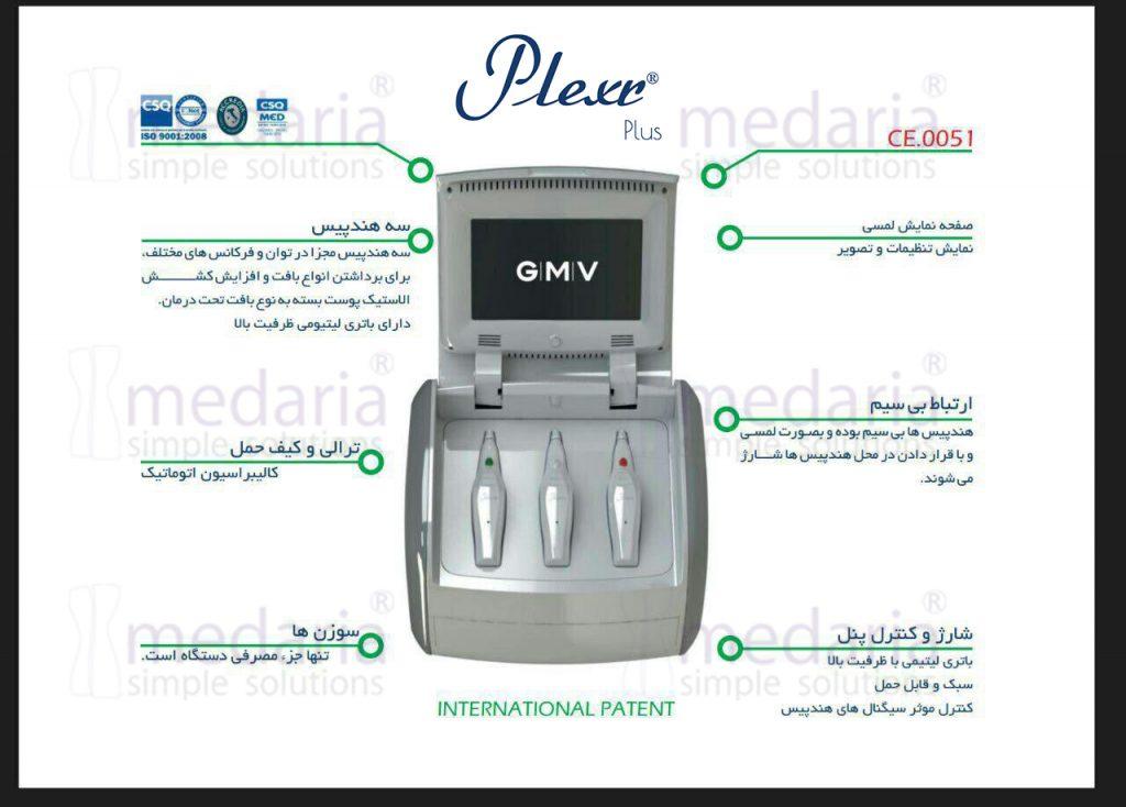 مشخصات فنی پلکسر