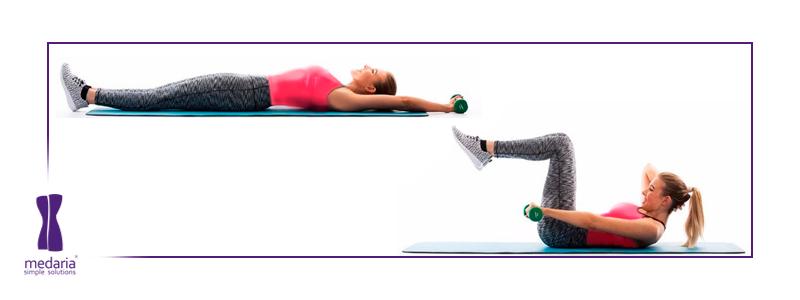 ورزش هایی برای لاغر کردن پهلو