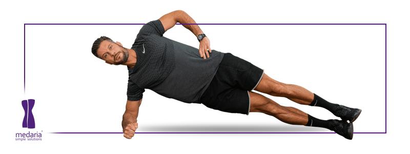 ورزش های شکم و پهلو